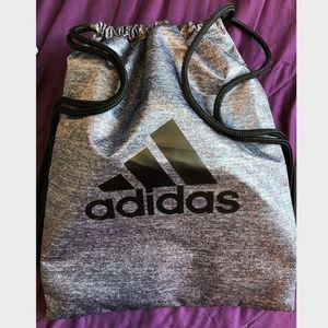 Adidas Drawstring Bag - Gray